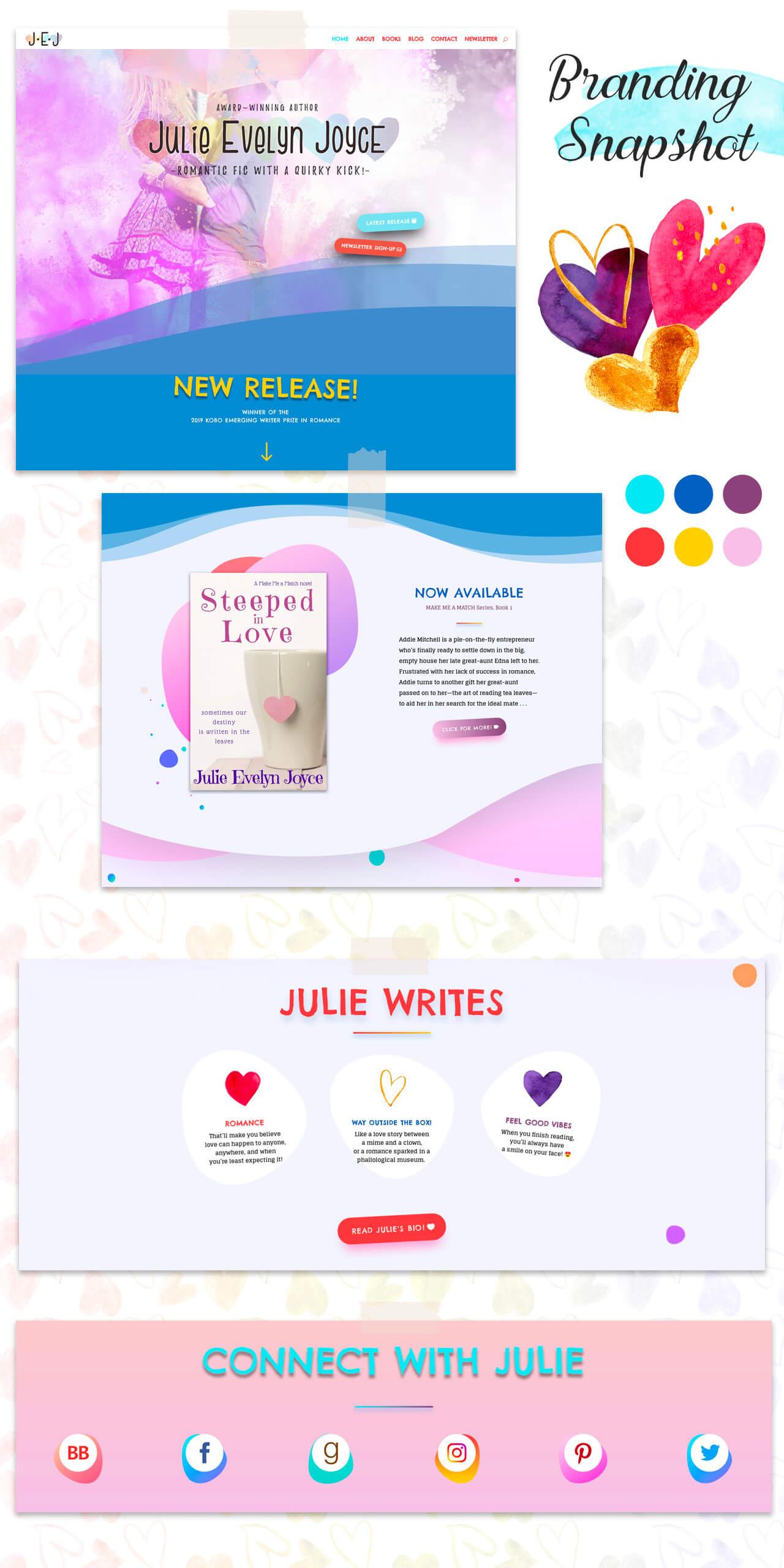 Author Website for Julie Evelyn Joyce