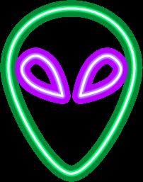 Neon Alien
